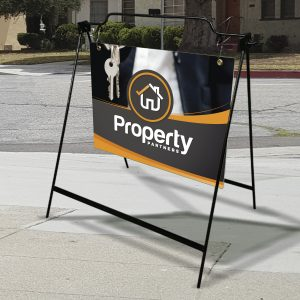 Picture of an A-Frame for Real Estate