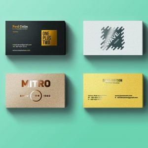 Fancy Business Cards