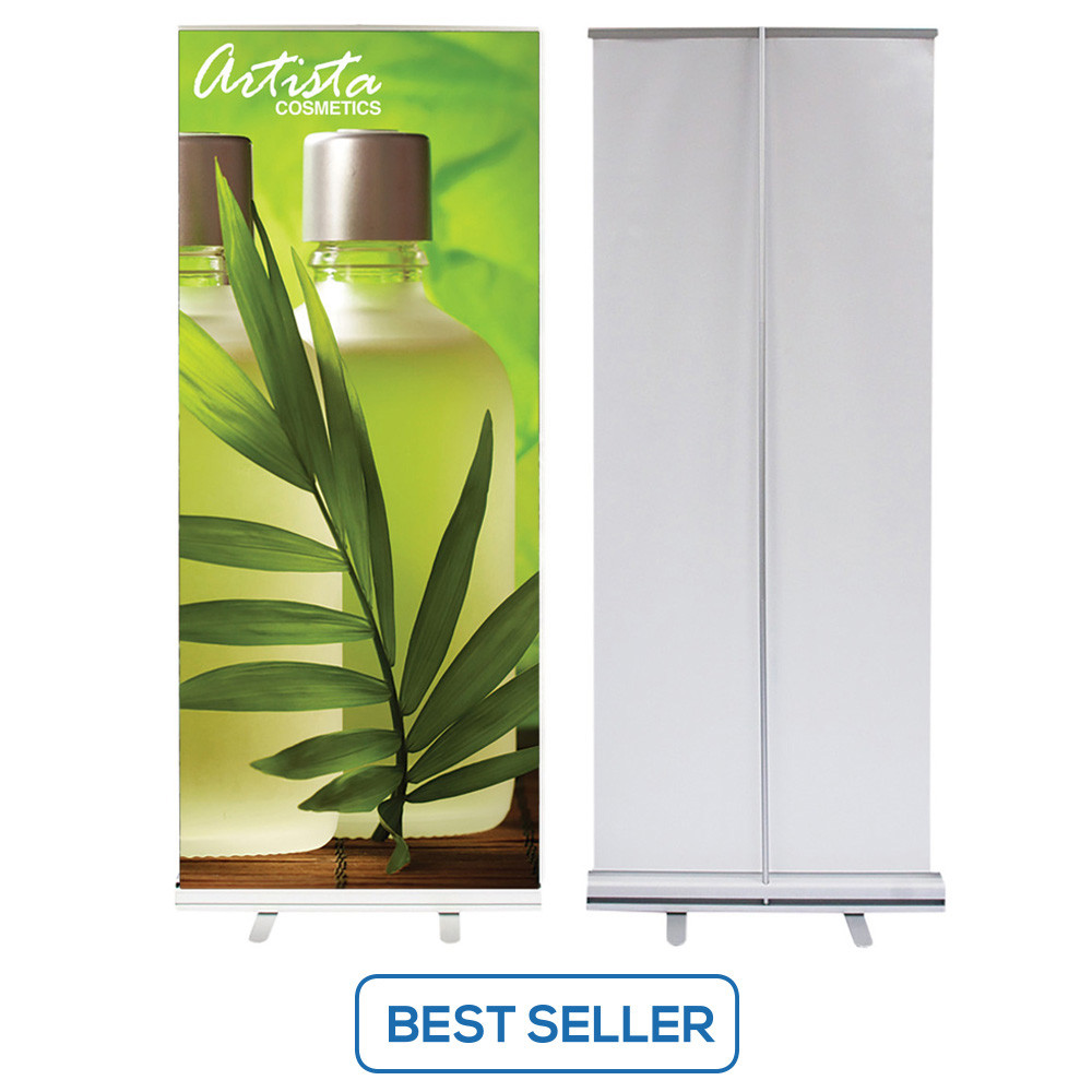 Retractable Banner Stand - Front and Back