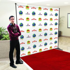 Step and Repeat Backdrop Miami